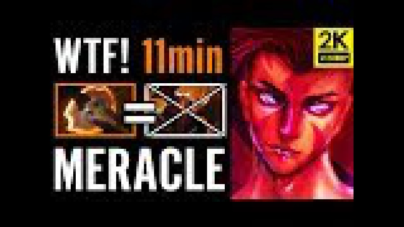 Meracle FTW 11Min Battle Fury AntiMage vs CK Pro Carry Dota 2 Gameplay
