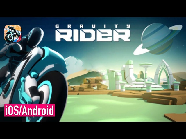 Gravity Rider: Power Run (by Vivid Games) - iOS / Android - FIRST GAMEPLAY