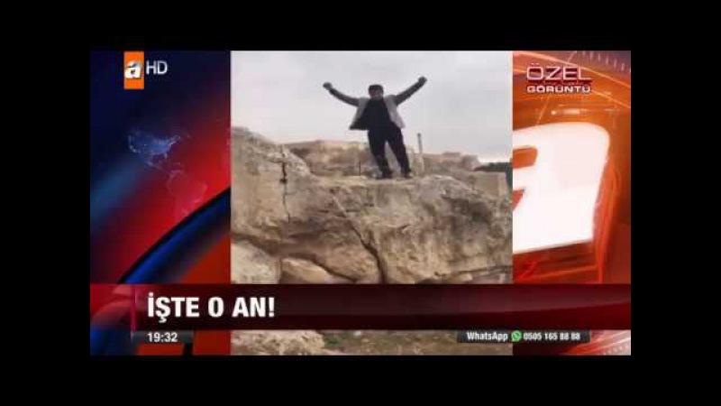 Мужчина упал с горы и разбился насмерть, пытаясь сделать удачное фото в прыжке