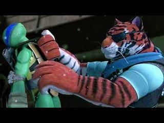 Teenage Mutant Ninja Turtles Legends - Episode 85 - Leo Best Fight Scene in Invasion
