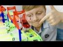 Трансформеры Автоботы Робот Динозавр Оптимус и Новый Трек с Машинками для детей