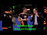 Virtus.pro champion 🏆 Bucharest Major champions Grand Final vs VGJ.Thunder Winning moment