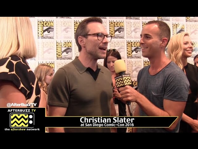 Christian Slater Talks About the New Season of Mr Robot at Comic Con 2016