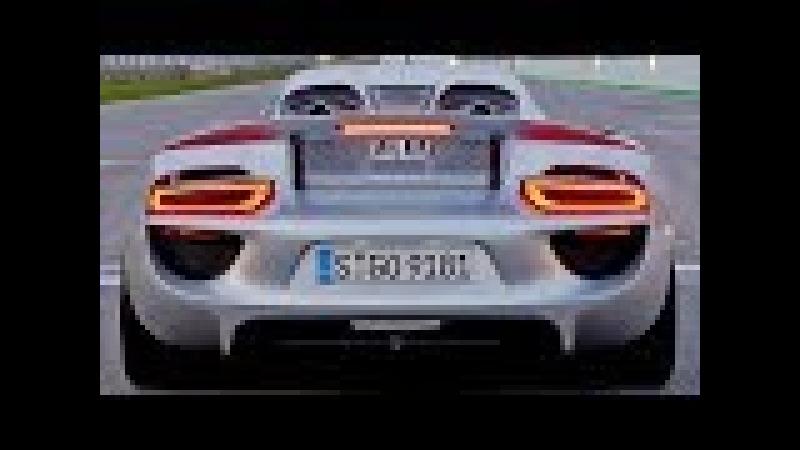 Porsche 918 Spyder – One minute of pure pleasure