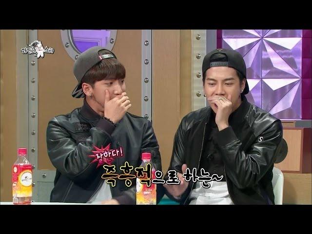 【TVPP】Jackson(GOT7) - Beatboxing Rapping, 잭슨(갓세븐) - 즉흥적으로 선보이는 비트박스 광둥어 랩 @ Radio