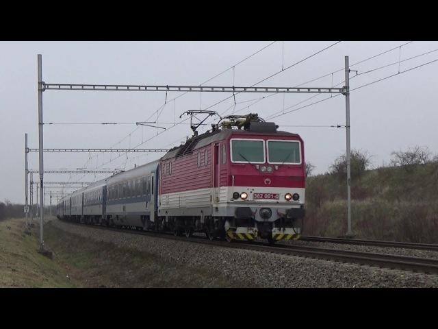 Vlaky Zaječí 24.11.2017