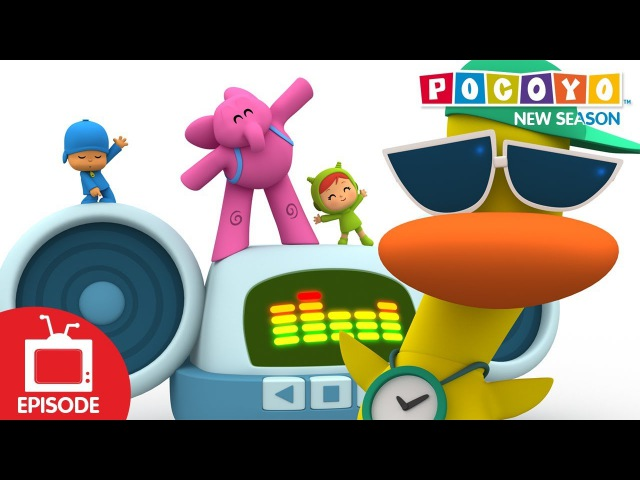 Pocoyo - Dance Off Part Two (S04E26) NEW EPISODES