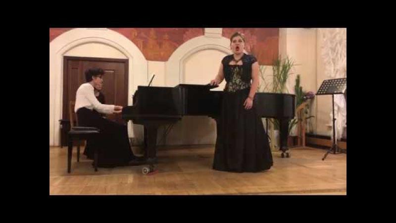 Katarina`s aria from the opera The Taming of the Shrew by Shebalin Katrin Bakurova