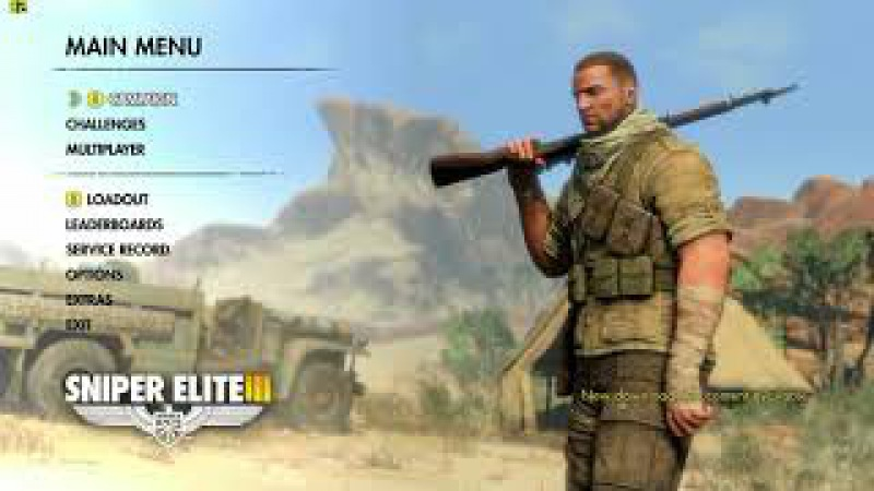 My fevorate pc games sniper elite 3