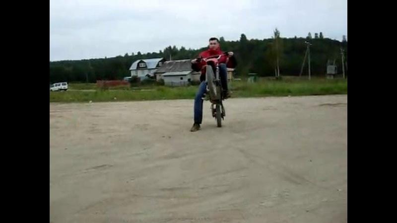 Pit bike Forsage 110cc wheelies part 2