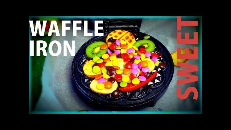 EXPERIMENT - WAFFLE IRON - HARIBO - BONIBON - FRUITS / SPECIAL COOKING