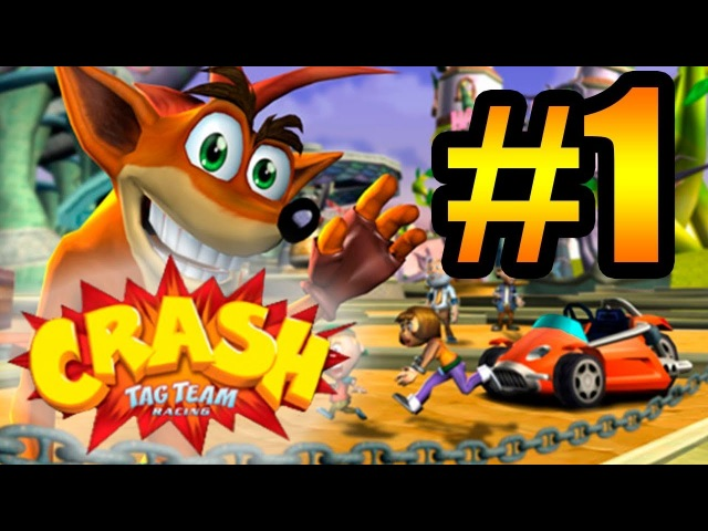 Прохождение Crash Tag Team Racing (PS2) 1 - Mystery Island