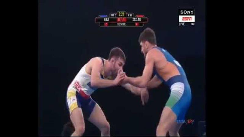 Индийская лига: Сослан Рамонов - Хаджи Алиев