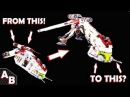 Can You Make A GUNSHIP Into A DROPSHIP? The Best way HOW TO CONVERT REPUBLIC SHIP 7676 10195
