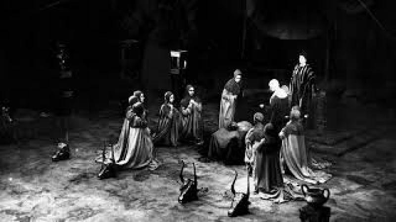 Еврипид Гекуба. Постановка А. Дзекуна (ритуальные сцены) 1979