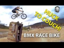 BMX Race Bike Test on Sketchy Couch Jump - Featuring Skills with Phil