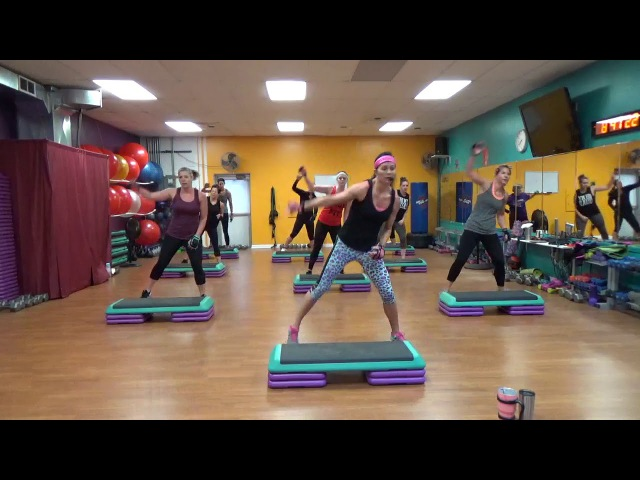 Step Cardio Blast/Biceps