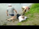 Пьяные приколы на рыбалке 2017