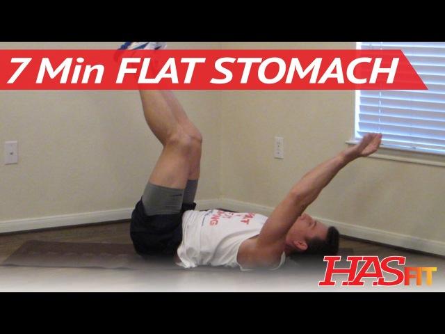 7-минутная тренировка пресса для более плоского живота. 7 Minute Flat Stomach Workout - HASfit Get A Flat Stomach Exercises - Flatter Stomach Work Out