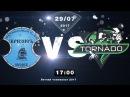 Летний чемпионат ВЛДФ 2017 | 13 тур | ФК Кризис - Торнадо 4:3
