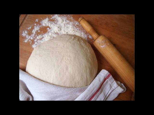 Легко и просто: Дрожжевое тесто на воде для пигоди (пян-се), ванманду, джинпанманд...