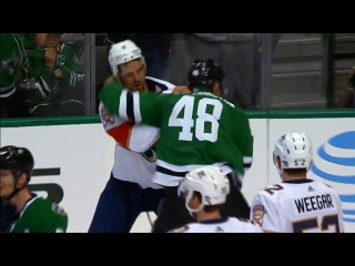 1.23.18 Stars vs. Panthers erupts with six fights, 138 combined penalty minutes