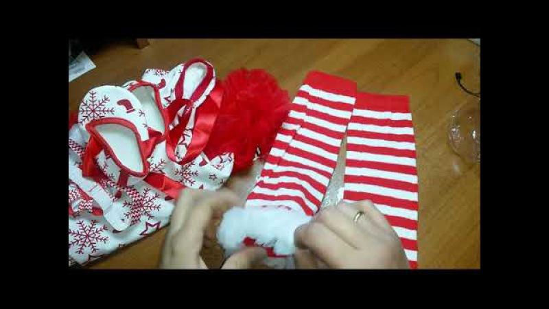 Три посылки из Китая(Распаковка от Лены)Детская Одежда, джинсы..