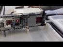 Герметичный сейф с приводом из Lego Technic
