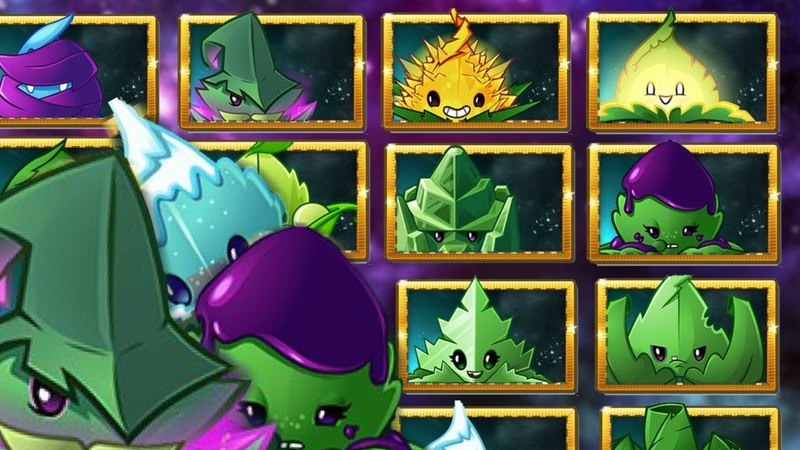 PvZ 2 - ALL 14 NEW plants! All plants for the year 2018 - Preview