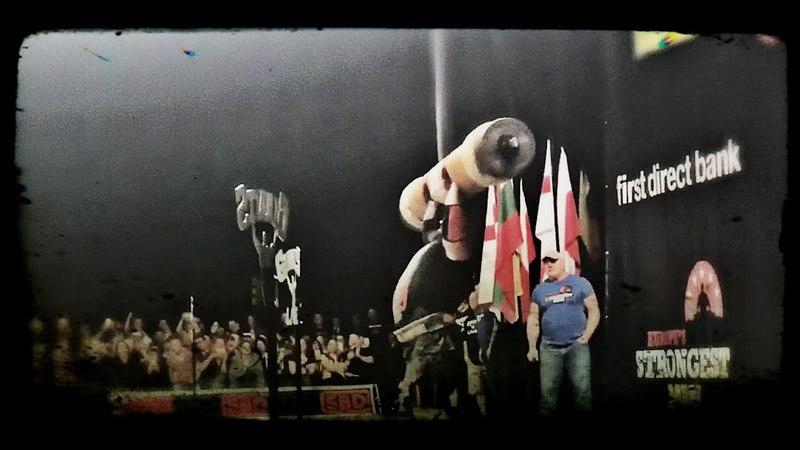 Eddie Hall Log lift 230kg (attempt)