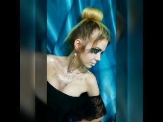 Макияж для фэшн съёмки от Светланы Тепловой