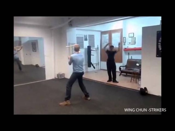 Grandmaster William cheung and Sifu Theo butterfly Sword Session