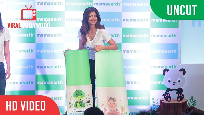 UNCUT - Shilpa Shetty Kundra At Mamaearth Event | Viralbollywood