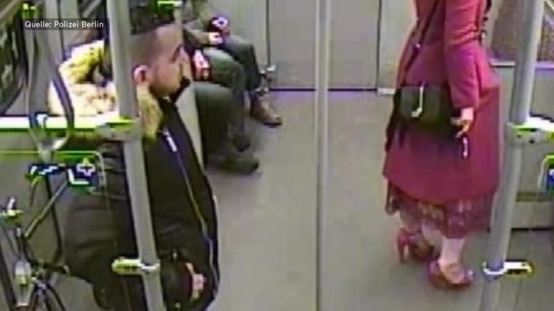 Berliner U-Bahn-Linie 6- Polizei fahndet nach mutmaßlichem Sexualstraftäter