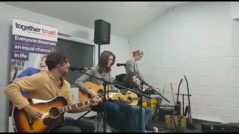 Blossoms performing Charlemagne for Ashcroft School, 29/09/2017