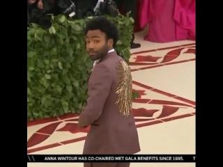 Donald Glover at MetGala 2018