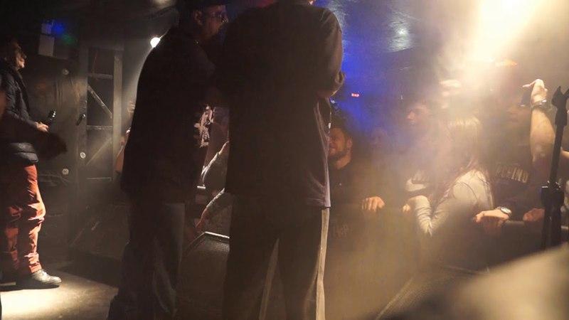 Bad Balance (Шeff, Al Solo, Купер и DJ LA) исполнила трек Питер, я твой в Санкт-Петербурге. (7 апреля 2018 г.)