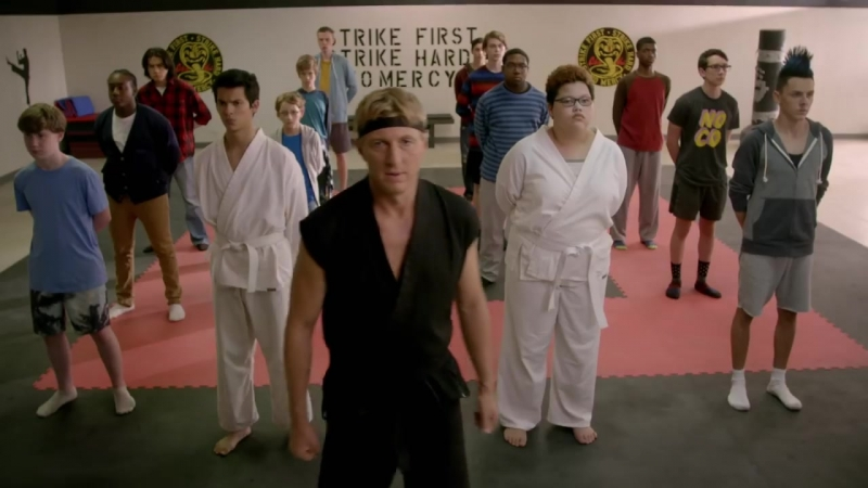 Кобра-Кай Cobra Kai Official Teaser Trailer 3 (Karate Kid) - Sensei Daniel