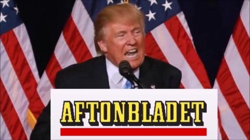 Aftonbladet om Trump!!