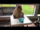 Попросила мужа покормить ребёнка 😂😂😂