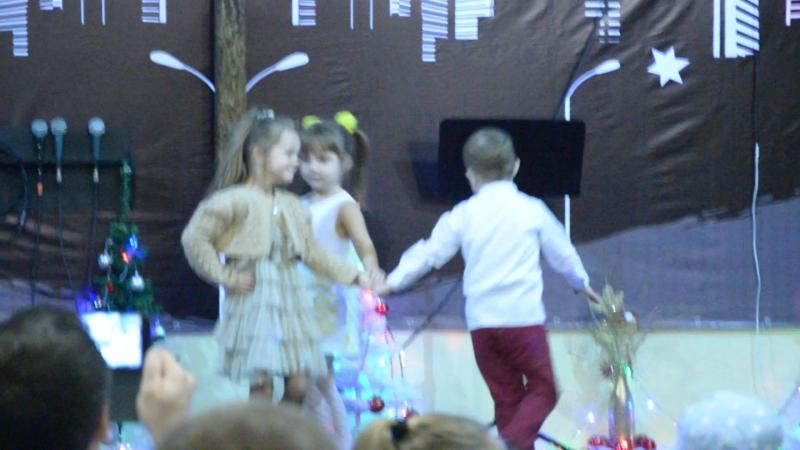 Танец на Рождество