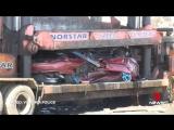 Как полиция Австралии уничтожает машины стритрейсеров
