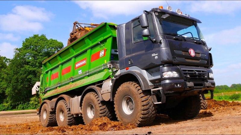 Tatra Phoenix 8x8 AgriTruck w/ Bergmann Muck Spreader | Olislagers Esch