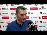 Declaraciones de Ernesto Valverde previas al Sevilla - Barc