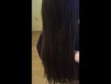 Волосы до кератина 🙈