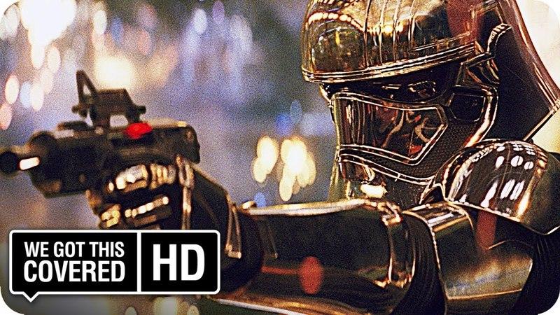 STAR WARS: THE LAST JEDI Finn vs. Phasma Scene [HD] John Boyega, Gwendoline Christie