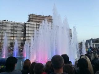 Открытие фонтанов в Драмтеатра, Комсомольск-на-Амуре, 24 сентября 2017 г.