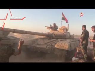 «Ночные охотники» выжигают пустыню перед наступающей сирийской армией