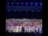 1000 choir singers performing a tribute to Avicii in Stockholm
