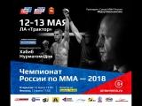 Приглашение на Чемпионат России по ММА 2018 от REM-93